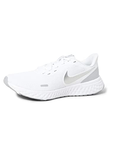 Nike Damen Revolution 5 Laufschuhe, White Wolf Grey Pure...