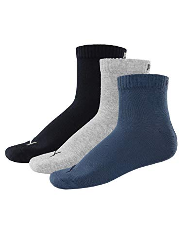 Puma Unisex Quarter Socke, 3er Pack