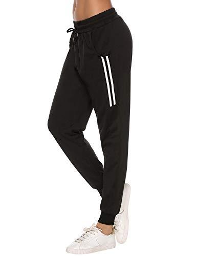 Sykooria Damen Jogginghose Sporthose Lang Yoga Hosen...