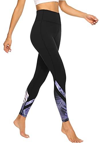 JOYSPELS Leggings Damen, Sporthose Lang Yogahosen, Sport...