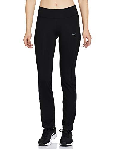 PUMA Damen WT ESS. Straight Leg Pant Hose, Black, L