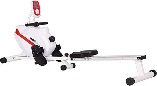 SportPlus Rudergerät klappbar für zuhause - 8 Stufen,...