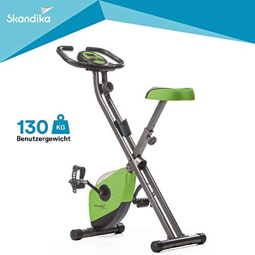Skandika Foldaway X-1000 Fitnessbike Heimtrainer x-bike...