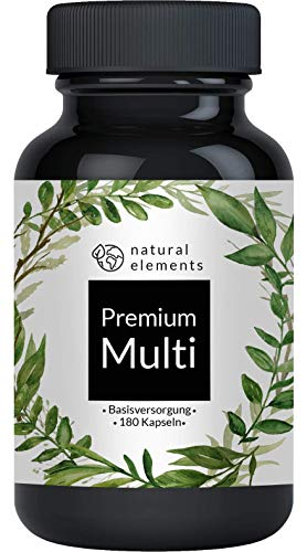 Multivitamin - Umfangreicher Komplex mit Bioaktiv-Formen und...