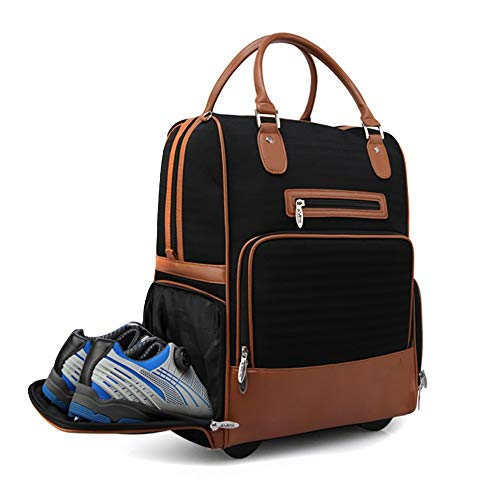 Battitachil Herren Trolley Bag Outdoor Sporttasche Teleskop...