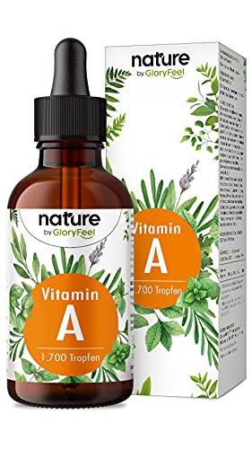 Vitamin A Tropfen hochdosiert - 5000 I.E (1500µg) pro...