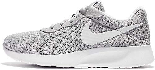 Nike Damen WMNS Tanjun Sneaker, Grau (Wolfgrau/Weiß), 37.5...