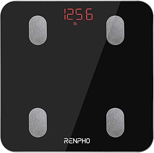RENPHO Körperfettwaage, Bluetooth Personenwaage mit App,...