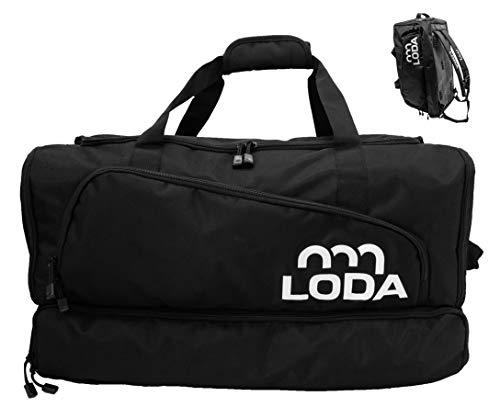 LODA® Sporttasche mit großem Schuhfach, Nassfach,...