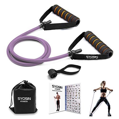 SYOSIN Fitnessbänder Professional Tube Gymnastikbänder mit...