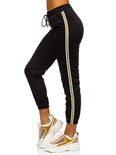 BOLF Damen Jogginghose Hose Yogahose Sport-Jogginghose...