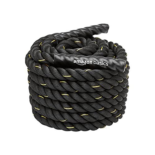 Amazon Basics - Trainingsseil Battle Rope, 15m x 3,8cm
