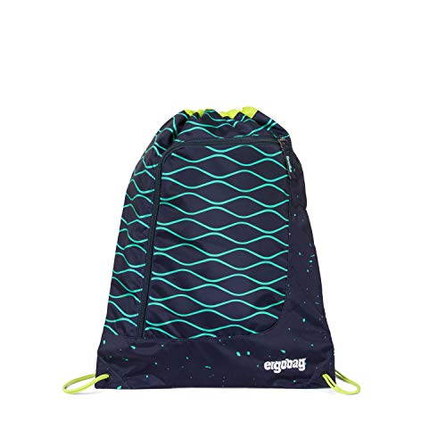 ergobag Unisex-Kinder Gym Bag Tasche Mehrfarbig (Bubblebear)