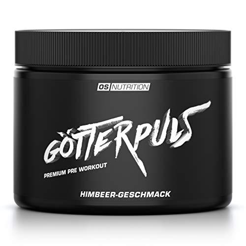 OS NUTRITION Götterpuls Premium Pre Workout Himbeere 308g