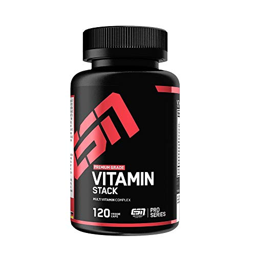 ESN Vitamin Stack – 120 Kapseln – Hochwertiger...