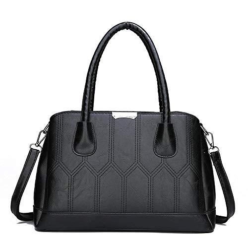 JW&WAZI Damen HandtascheCanvas Schultertasche Stilvolle...