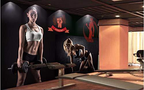 Wxlsl 3D Tapete Benutzerdefinierte Wandbild Gymnasium...