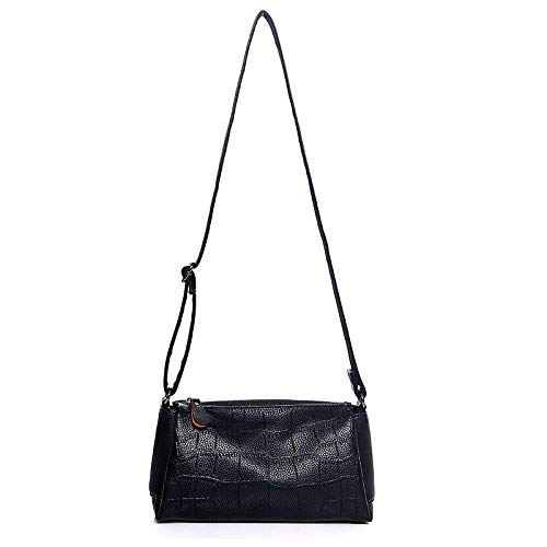 JW&WAZI Damen HandtascheCanvas Schultertasche Mini Bag...