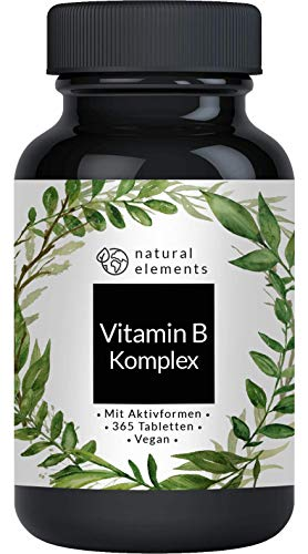 Vitamin B Komplex - 365 Tabletten - Mehrfacher Sieger...