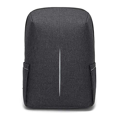 fczka Herren USB-Lade-Notebook 15,6'Laptop Rucksack Travel...
