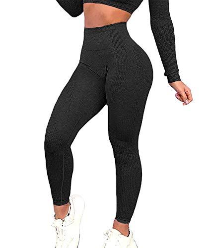 Yaavii Damen Sport Leggings Lange Blickdicht Yoga Leggings...
