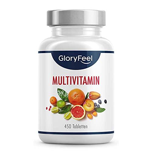 Multivitamin Hochdosiert - 450 Tabletten (15 Monate) - Alle...