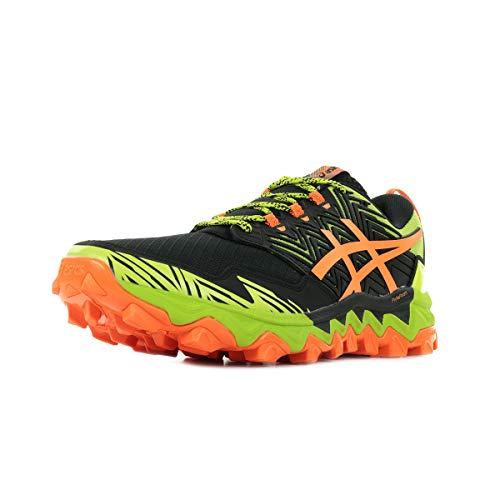 Asics Mens Gel-Fujitrabuco 8 Running Shoe, Neon Lime/Black,...