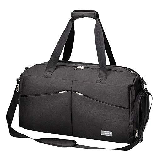 HOKEMP Sporttasche mit Nassfach und Schuhfach, Reisetasche...