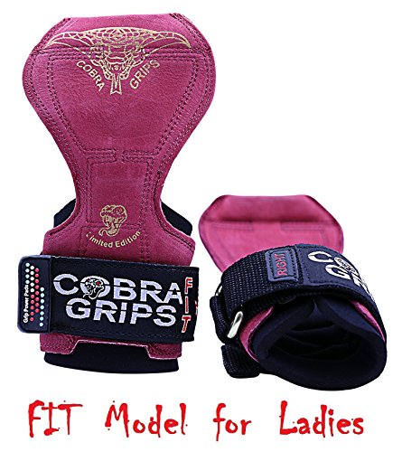 Grip Power Pads Cobra Grips® V2 FIT RED Leather