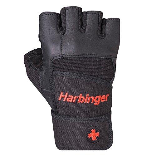 Harbinger Uni Fitnesshandschuhe Pro Wrist Wrap, schwarz, S,...