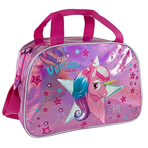 Einhorn Kinder Sporttasche Kleine Mädchen - Pink...