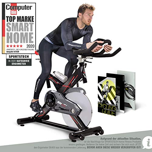 Sportstech Profi Indoor Cycle SX400 – Deutsche...