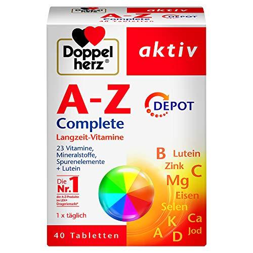 Doppelherz A-Z Complete DEPOT Langzeit-Vitamine – 23...