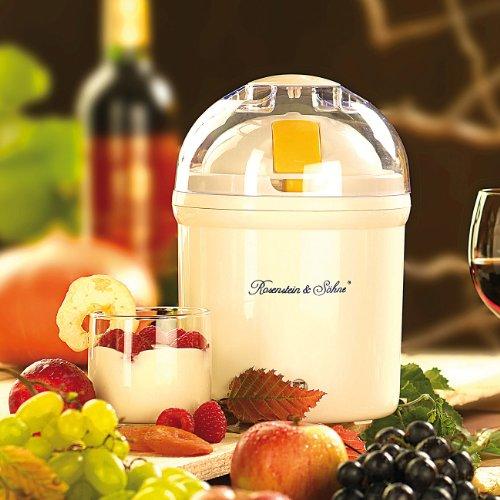 Rosenstein & Söhne Joghurtbereiter: Joghurt-Maker für 1...