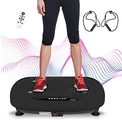 ATIVAFIT Fitness Vibrationsplatte mit Ultraflache Vibration...