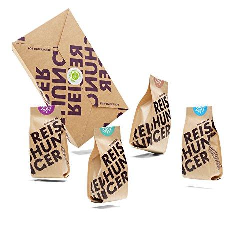 Reishunger Reiskocher Starter Box – 4 verschiedene...