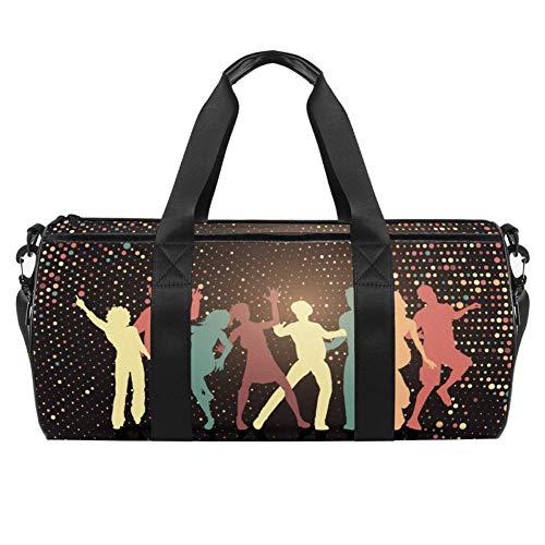 Xingruyun Sporttasche Kinder Farbsilhouette tanzen...