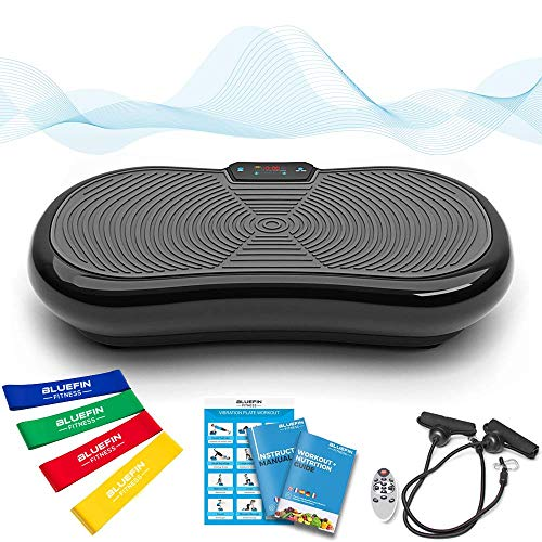 Bluefin Fitness Ultra Slim Power Vibrationsplatte | Fett...