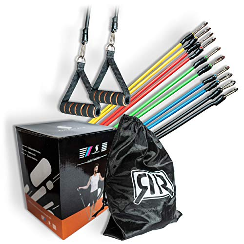 R&RGbR Resistance Bands Widerstandsband Set- Krafttraining -...