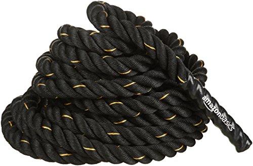 Amazon Basics - Trainingsseil Battle Rope, 9m x 3,8cm