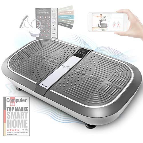 Sportstech 3D Vibrationsplatte VP300 | Mega Fett-Verbrenner...