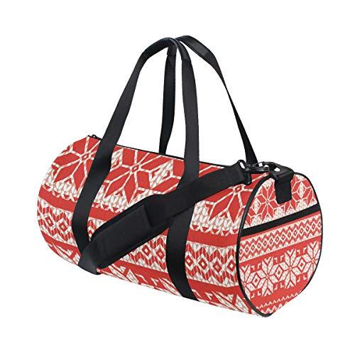 MALPLENA Sporttasche für Damen, Weihnachtsstern,...