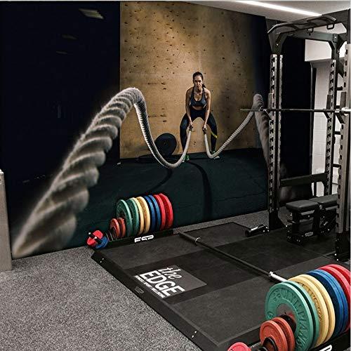 Weaeo Benutzerdefinierte Wandbild Schönheit Gym Fitness...