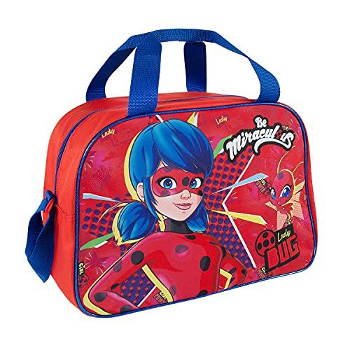 Miraculous Ladybug Sporttasche Mädchen Kindergarten - Lady...