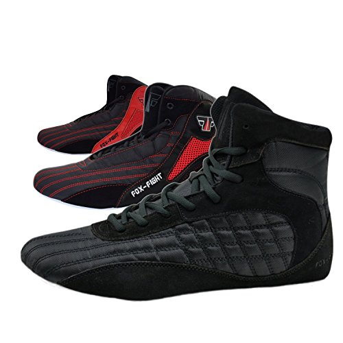 FOX-FIGHT Kampfsport Schuhe Ringer Schuhe athletik...