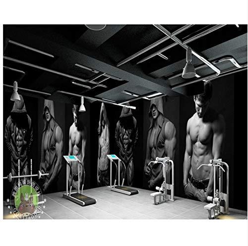 WH-PORP 3D Tapete Tapete Gym Bodybuilding Boxen Fitness Bar...