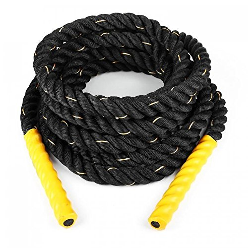 Capital Sports Monster Rope - Battle Rope, Power Rope, Fitness Rope, Schwungseil, Tauziehen,...