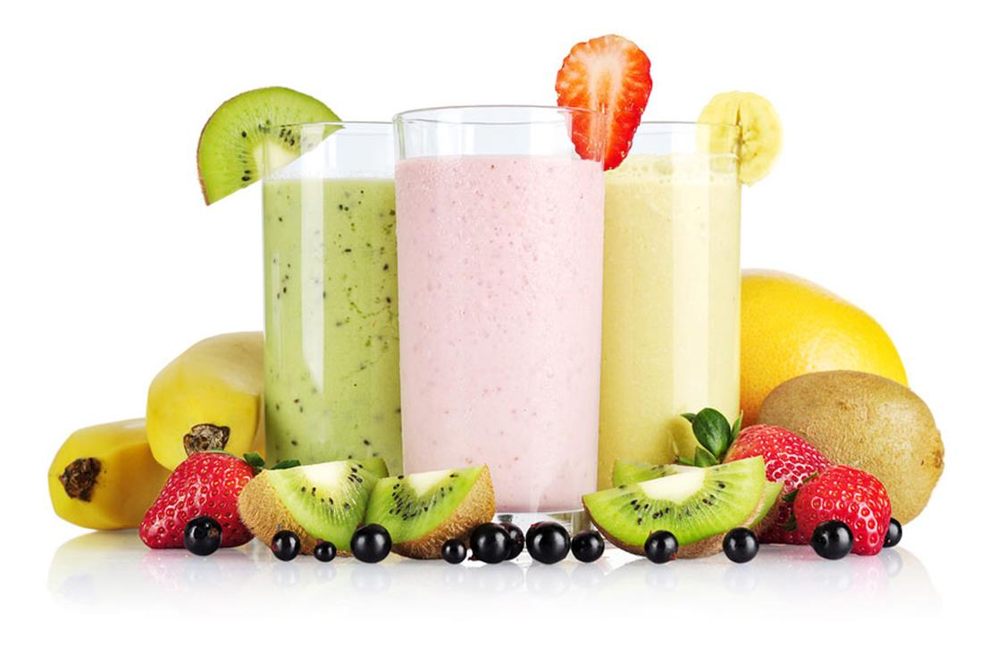 Fruchtige Protein-Shakes